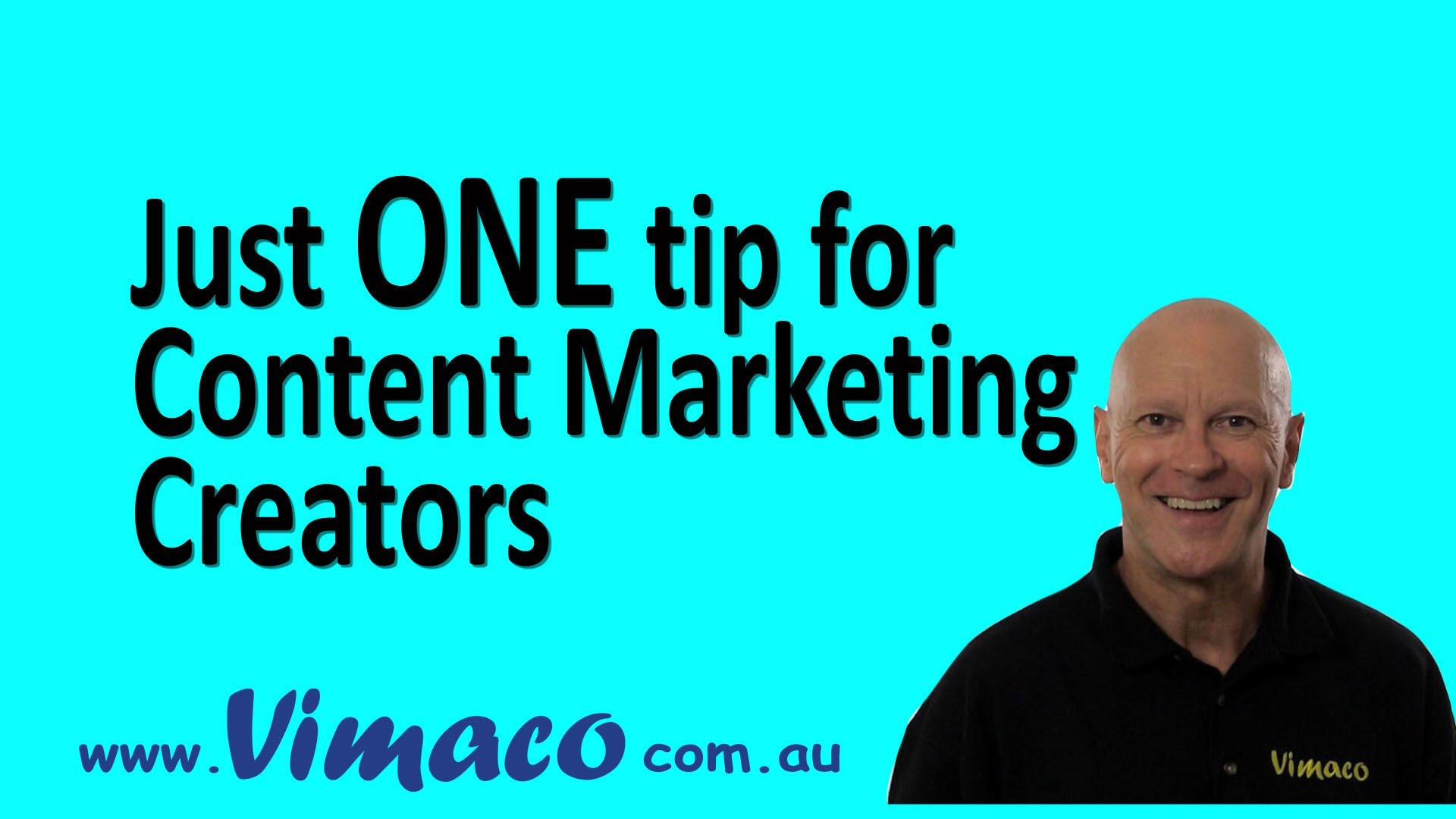 ONE tip for all Content Creators