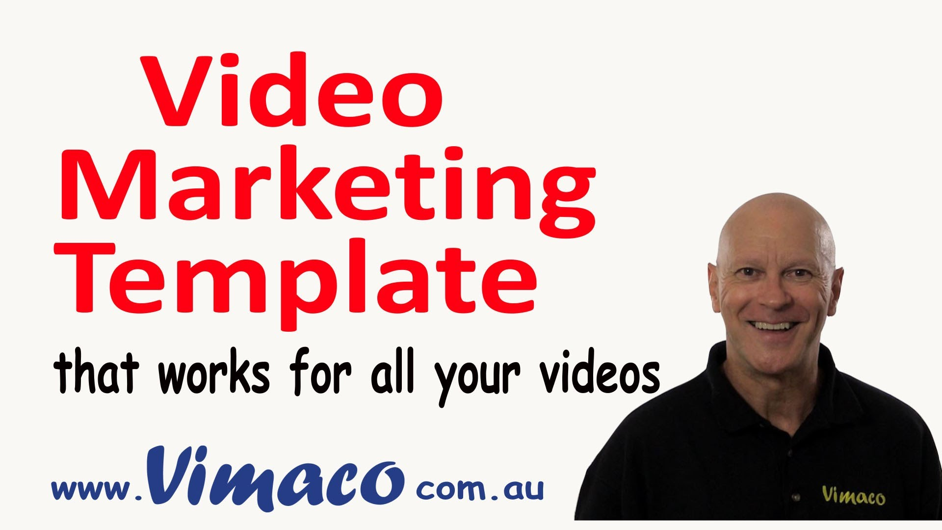 Video Marketing Template that will work for all your videos