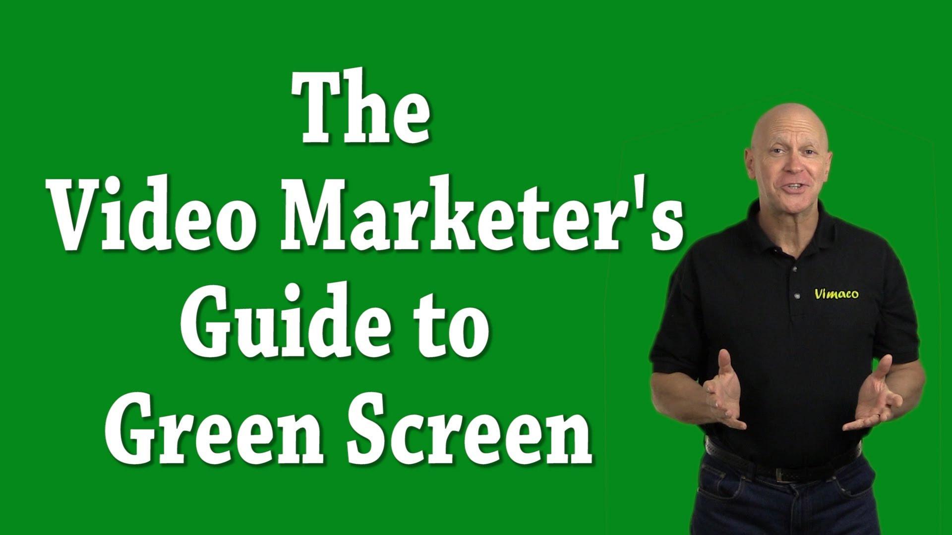 The Video Marketer's Guide to Green Screen